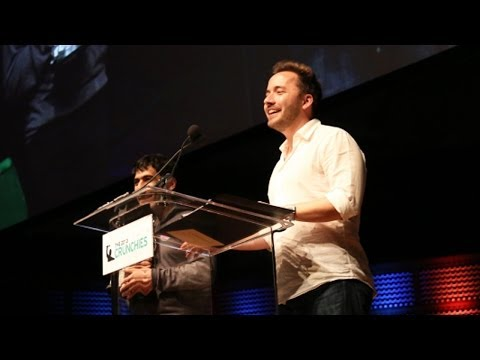Arash Ferdowsi, Drew Houston: Founders of the Year   Crunchies 2013