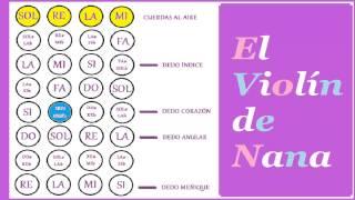"""Como Tocar la Canción """"María Tenía Un Corderito"""" a Violín"""