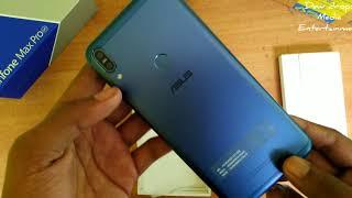 Unboxing   New   Blue   Asus Zenfone Max Pro M1