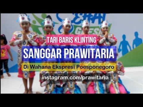 Tari Baris Klinting - Sanggar Prawitaria - Car Free Day WEP Gresik