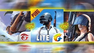 🔥 FREE FIRE VS PUBG MOBILE LITE VS HOPELESS LAND 🔥 COMPARISON - The Best Series EP-8