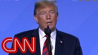 Trump calls himself a