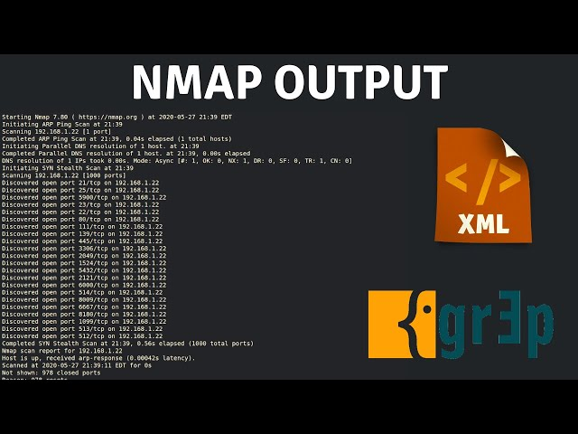 Nmap - Output And Verbosity