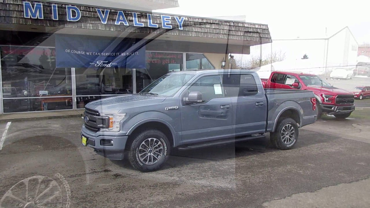 Ford Trailer Backup Assist >> 2019 ABYSS GRAY F150 302A - YouTube