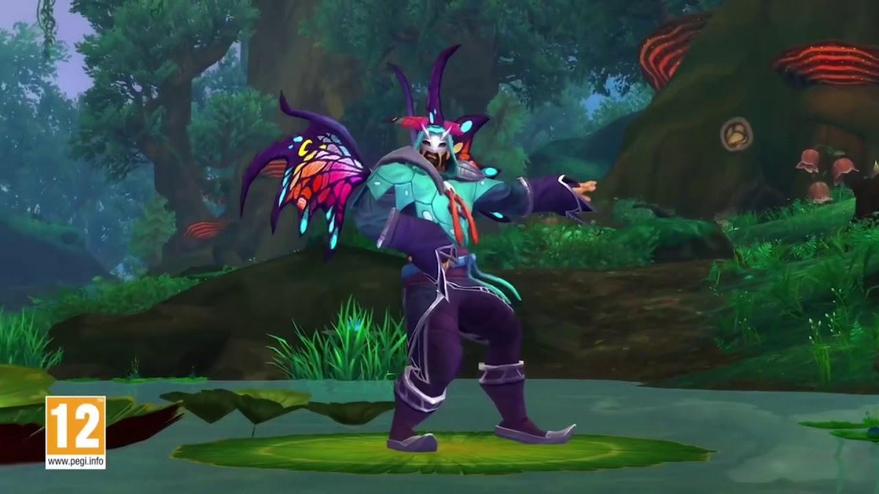 World of Warcraft Macarena version