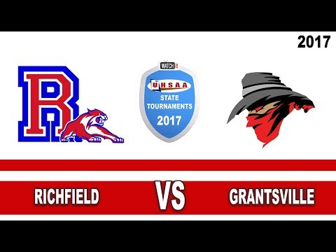 3A Volleyball: Richfield vs Grantsville High School UHSAA 2017 State Tournament Round 1
