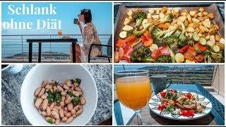 SCHLANK OHNE DIÄT. Gesunde & Intuitive Ernährung. What I eat. Das Leben genießen.