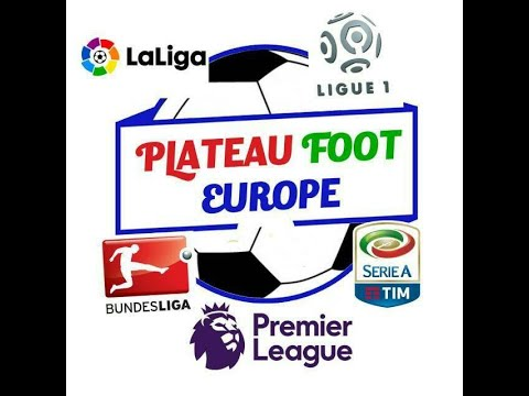 SPORTFM TV - PLATEAU FOOT EUROPE DU 21 OCTOBRE 2019 PRESENTE PAR ANGELO FOLLYKOE
