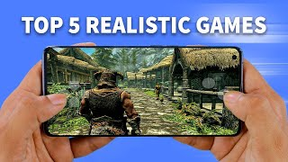 Top 5 ULTRA HIGH GRAPHICS Games for Android in 2020