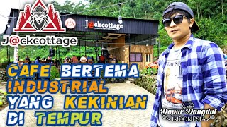 J@ckcottage Industrial Cafe & Cottage, Cafe Kopi Baru di Tempur