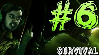 Alien Isolation Gameplay | Survival Mode | PART 6