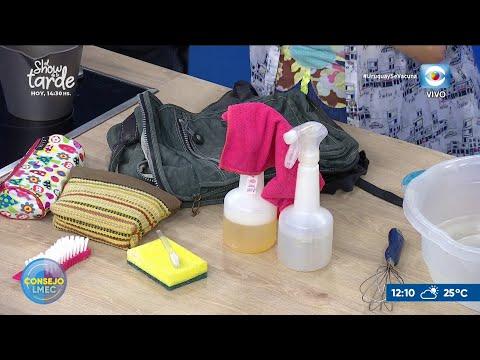 La higiene de mochila y vianda escolar