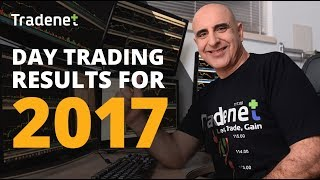 Day Trading Results 2017 - Meir Barak