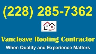 Vancleave New Roof|New Roof Vancleave