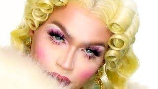 Elizabethan Queen Makeup Transformation