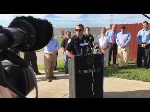 Lake Pontchartrain oil platform explosion news conference, Oct. 16, 2017, 4 p.m.