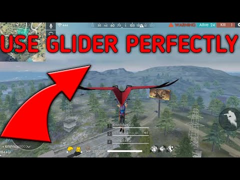 How To Use Glider Perfectly In Free Fire || Kamakhya Official