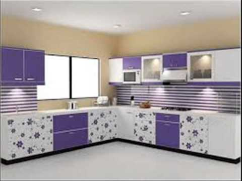 L shaped kitchen youtube for Kitchen furniture design l shape