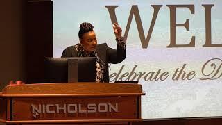Dr. Bernice King speaking at MLK celebration in OKC