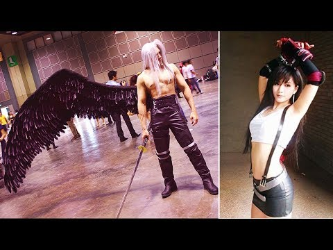Final Fantasy VII in Real Life! Best FF7 cosplay 2017