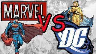 10 Персонажей Marvel Заимствованных (Сворованных) у DC Часть #1