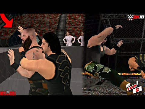 WWE 2K18 ANDROID - 5 things that can happen at Hell in a cell 2018 WWE 2K18/WWE SVR11 PSP