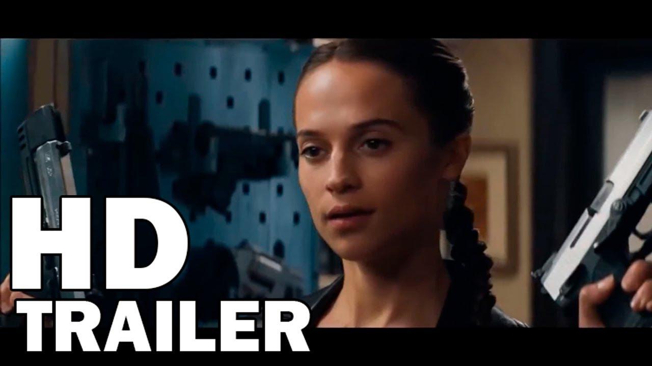 TOMB RAIDER: A ORIGEM -  OFICIAL TRAILER 2018 AÇÃO FILME HD