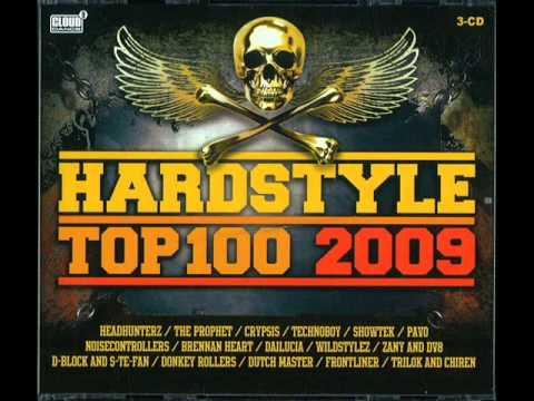 Hardstyle Top 100 2009 CD1