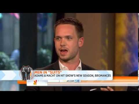 Gabriel Macht and Patrick J. Adams on The Today Show 7/16/13