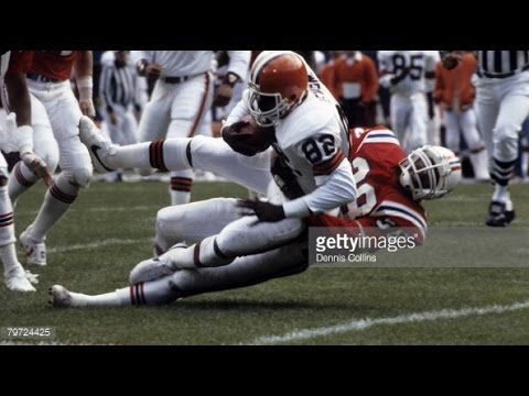 1980 Browns at Patriots Game 1