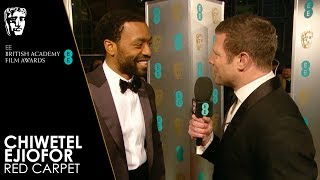 Chiwetel Ejiofor on Directing Netflix Film The Boy Who Harnessed the Wind  EE BAFTA Film Awards