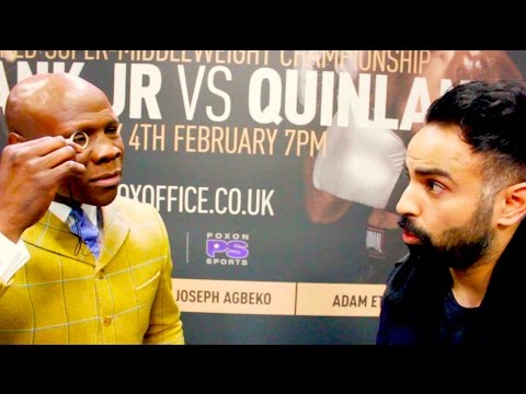 """Chris Eubank Sr: """"I'm the Donald Trump of Boxing, I'm here to change the game"""""""