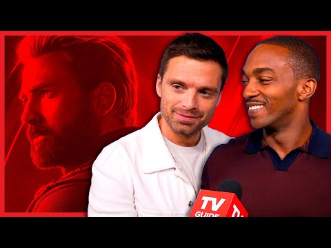 Sebastian Stan and Anthony Mackie Talk Missing Chris Evans in Falcon and the Winter Soldier