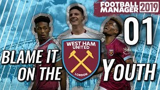 FM19 West Ham Ep 1 - TEAM INTRODUCTION - Football Manager 2019 Let's Play