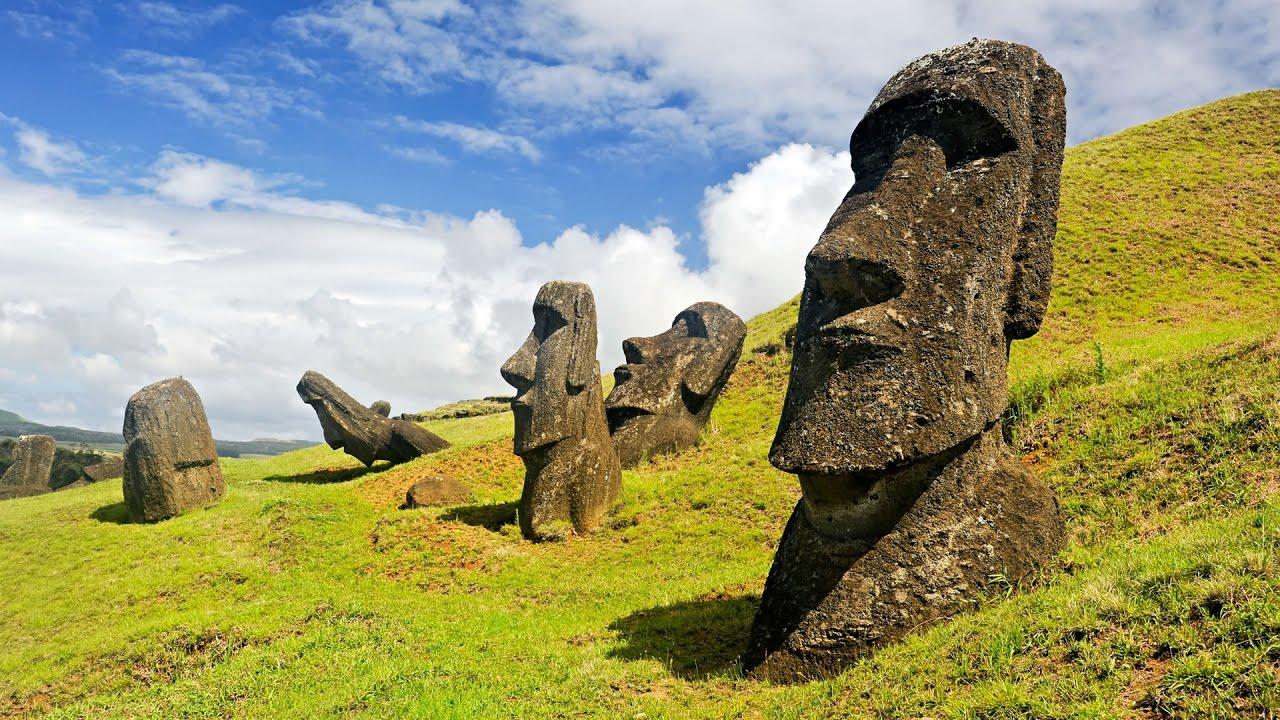 Resultado de imagen para El misterio de los moái de la Isla de Pascua parece resuelto
