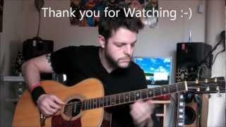Enter Sandman - Metallica - Acoustic Guitar