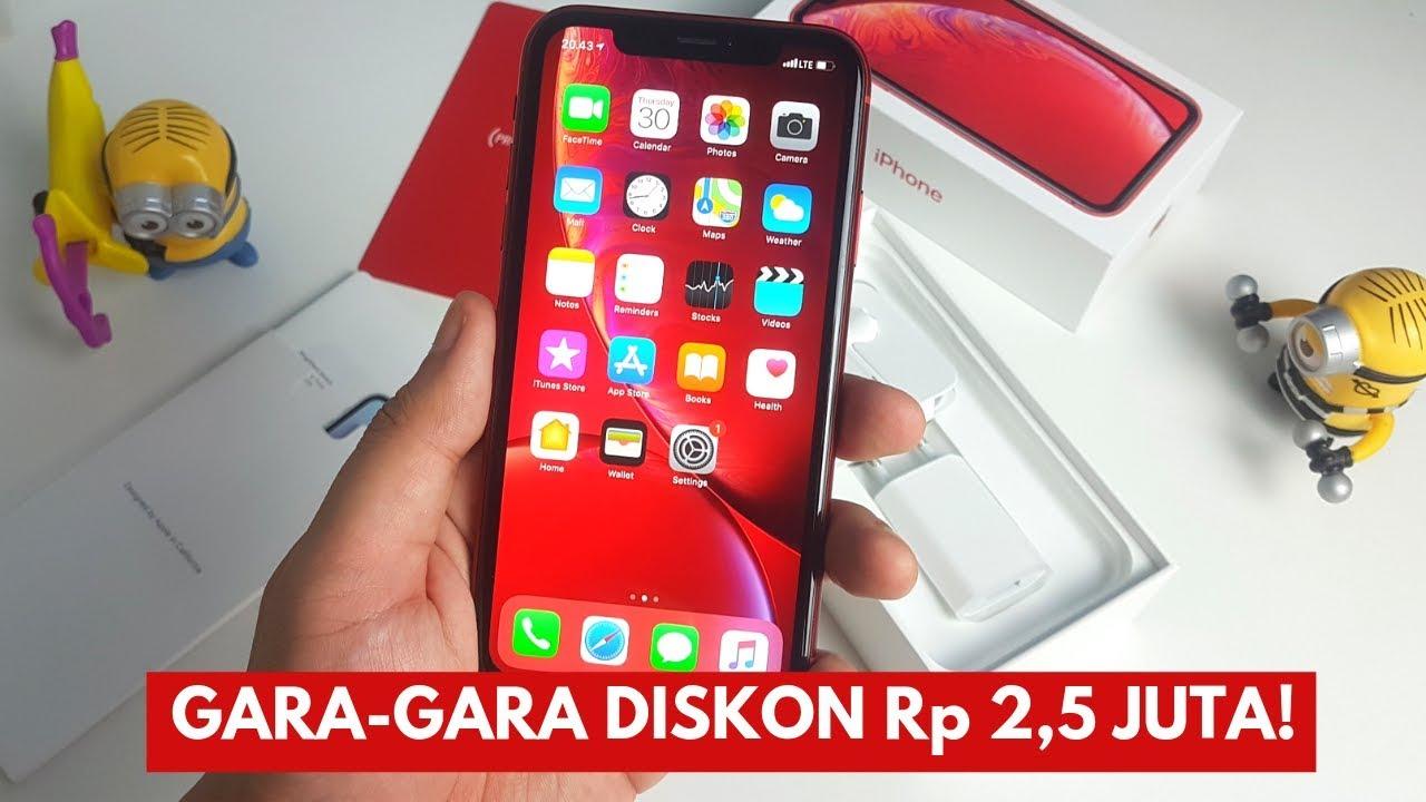 Jadi Murah Unboxing Iphone Xr 128gb Garansi Resmi Ibox