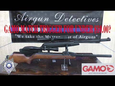 Gamo match trigger for under $6.00? How to upgrade your trigger by Airgun Detectives