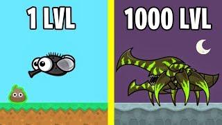 Animal Evolution in Space! FlyOrDie.io New io Game