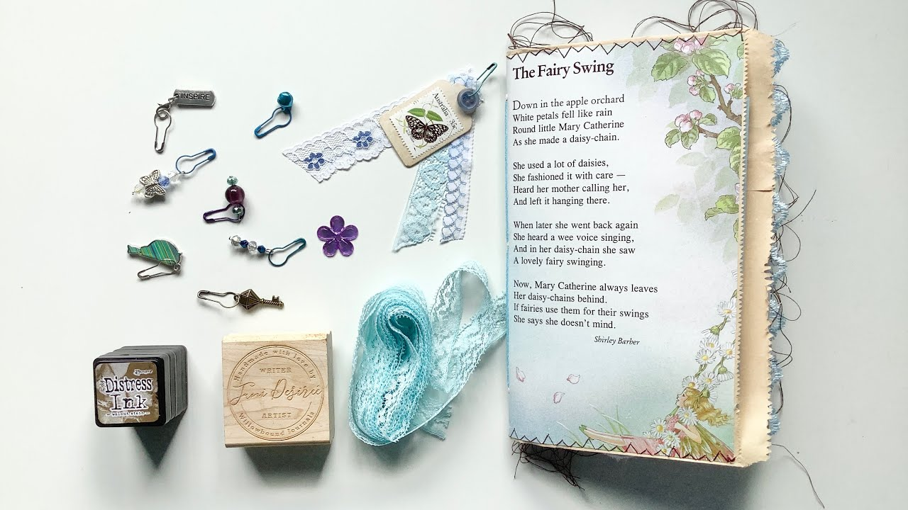 Making fairy journals start to finish - Adding charms & closure (Part 8)