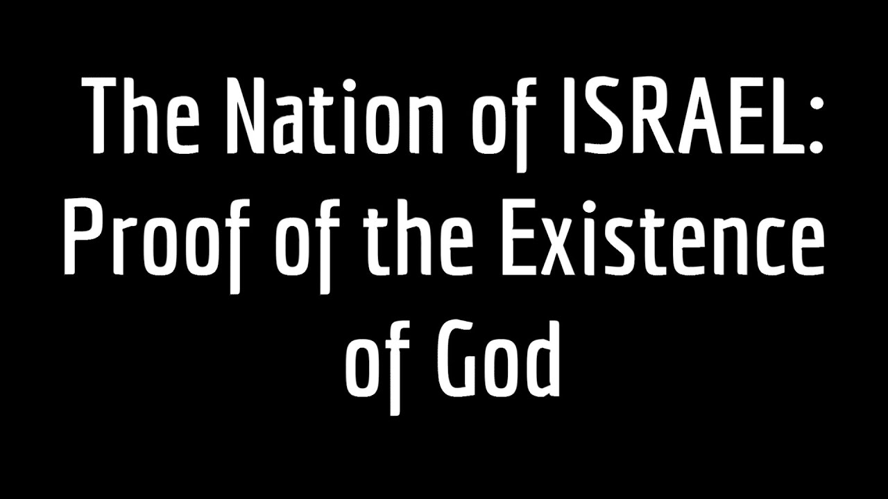 the proof of the existence of god Five arguments for the  non-existence of god  there are many corollary reasons to the above argument as to why i reject the existence of god god is typically.