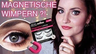 Magnetische Wimpern?! 👉 ARDELL Magnetic Lashes im TEST! 👀 Review | QuiteMaddy