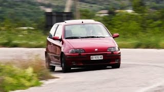 Fiat Punto GT - Davide Cironi Drive Experience (ENG.SUBS)