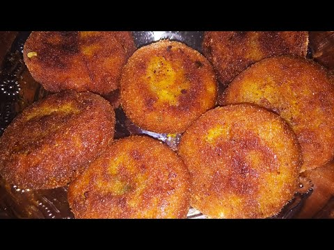 CRISPY CRUNCHY POTATO CUTLET RECIPE IN TAMIL