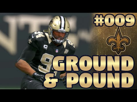 Madden NFL 17 New Orleans Saints Franchise Ep. 9 | Ground and Pound (Recap)