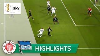 FC St. Pauli - Hertha BSC 0:2 | Highlights DFB-Pokal 2016/17 - 2. Runde