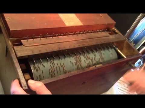 Pre-1900 Antique R. Snell London Barrel Piano Roller Organ