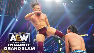 Bryan Danielson vs Kenny Omega, A Dream Match for the Ages! | AEW Dynamite Grand Slam, 9/22/21