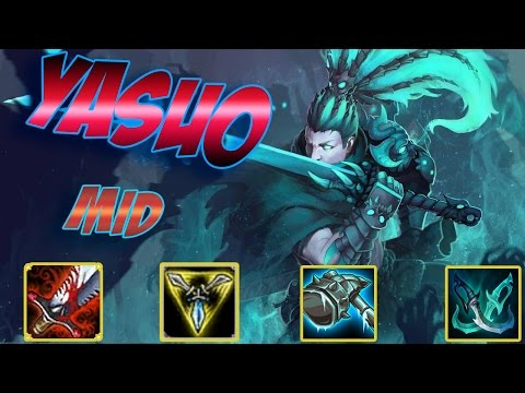 Yasuo Mid | Arkadata VN | Xuất Quỷ Nhập Thần | Cách chơi và lên đồ | Liên Minh Huyền Thoại