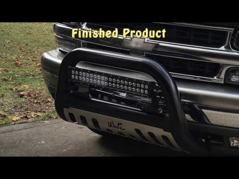 Installing a Westin Bull Bar on Chevy Tahoe GM Truck